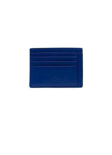 Men's Edward Bicolor Leather Zip Document & Card Holder