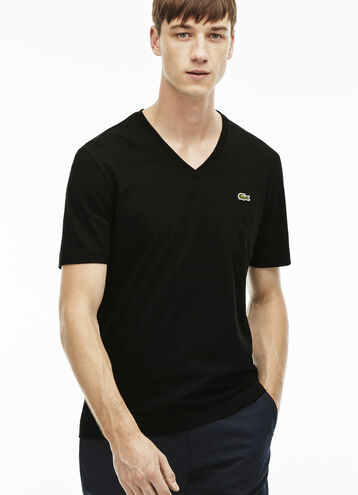 Men's L!VE Jersey Ultra Slim V-Neck T-Shirt