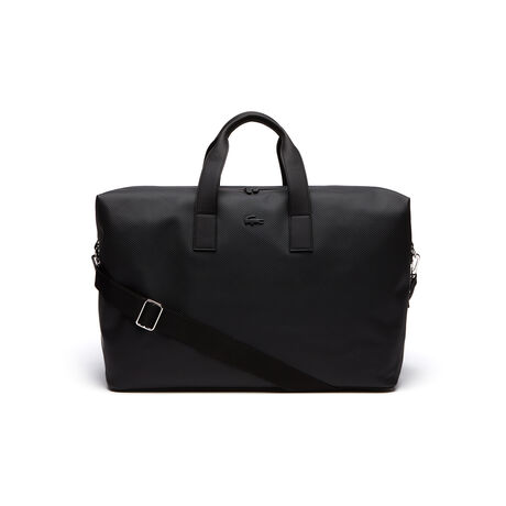 Men's Chantaco Monochrome Coated Leather Weekend Bag