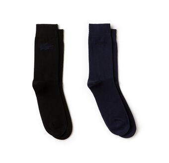 Men's Fine Jacquard Sock