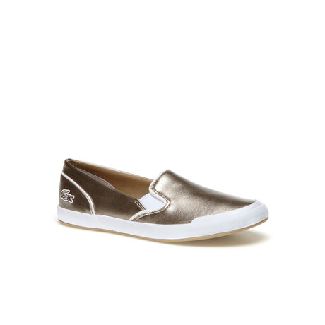 Women's Lancelle Metallized Slip-Ons