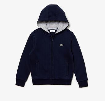 Kids' SPORT Tennis Zippered Fleece Sweatshirt