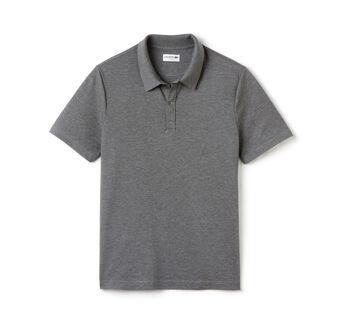 Men's Slim Fit Mercerized Piqué Polo Shirt