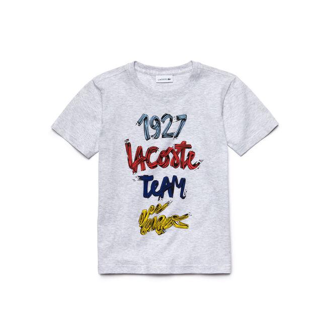 Kids' Short Sleeve 1927 Lacoste Croc Graphic T-Shirt