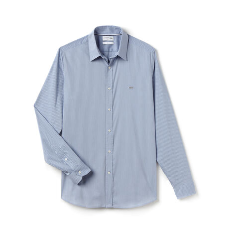 Men's Check Poplin Woven Shirt