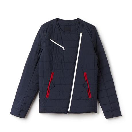 Women's Taffeta Round Collar Down Jacket