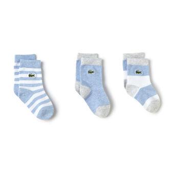 Kids' 3 Pack Of Patterned Socks