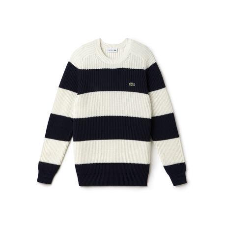 Men's Bold Stripe Crewneck Sweater