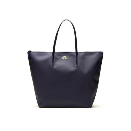 L.12.12 Concept Zip Travel Tote With Leather Accents