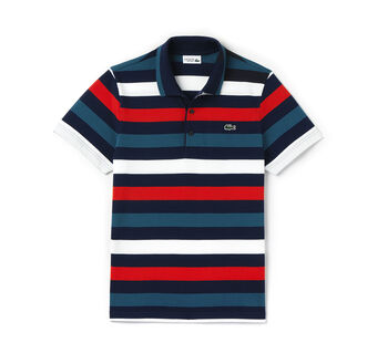 Men's SPORT Stripe Superlight Tennis Polo Shirt