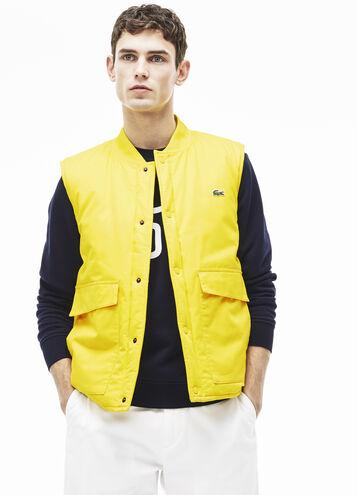 Men's Twill Cotton Lightly Padded Vest
