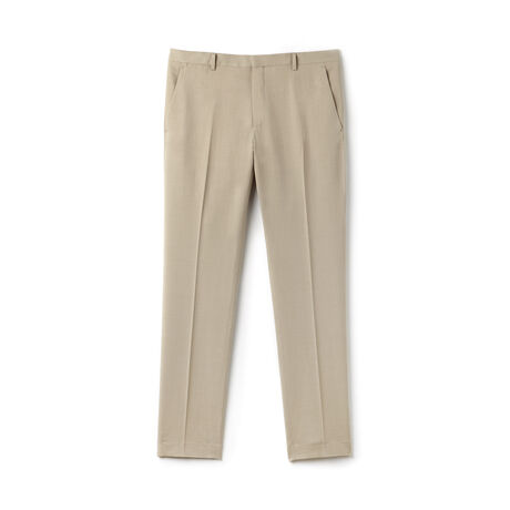 Men's Bicolor Cotton Linen Blend Suit Pants