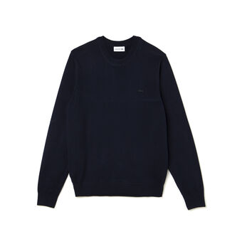 Men's Jersey Cotton Crew Neck Sweater