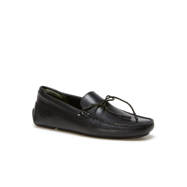Men's Piloter Corde Leather Moccasins