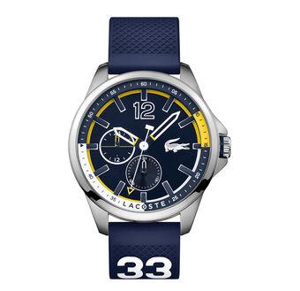 Men's Cabreton Red Silicone Strap Watch