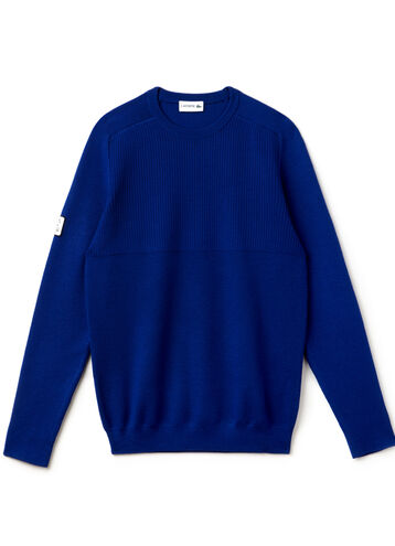 Men's Mixed Rib Crewneck Sweater