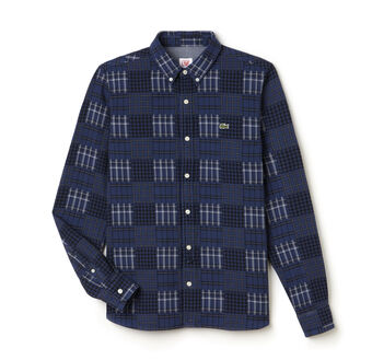 Men's L!VE Multi-Pattern Flannel Shirt