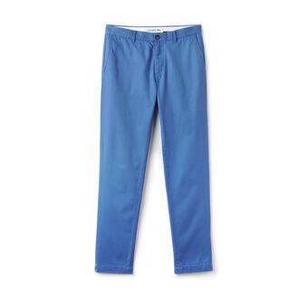 Men's Slim Fit Cotton Gabardine Chino Pants