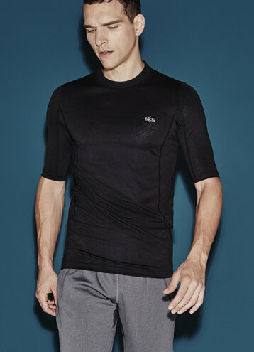 Men's SPORT Performance Jacquard Crew Neck Tennis T-Shirt