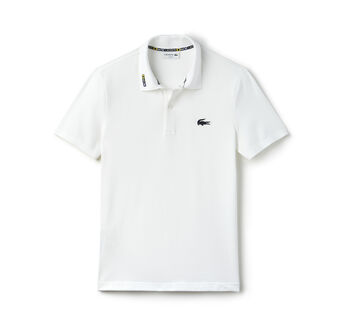 Men's Rubber Crocodile Piqué Polo Shirt