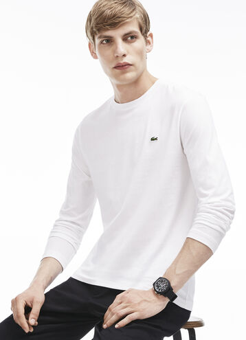 Men's Pima Cotton Crew Neck T-Shirt