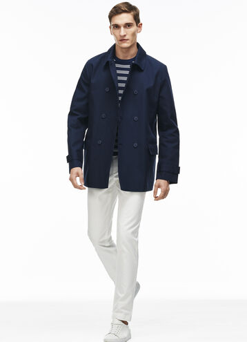 Men's Cotton Poplin Coat