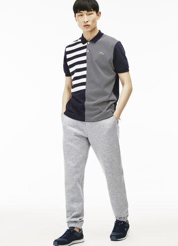 Men's Lacoste L!VE Chinos With Elasticized Bottoms