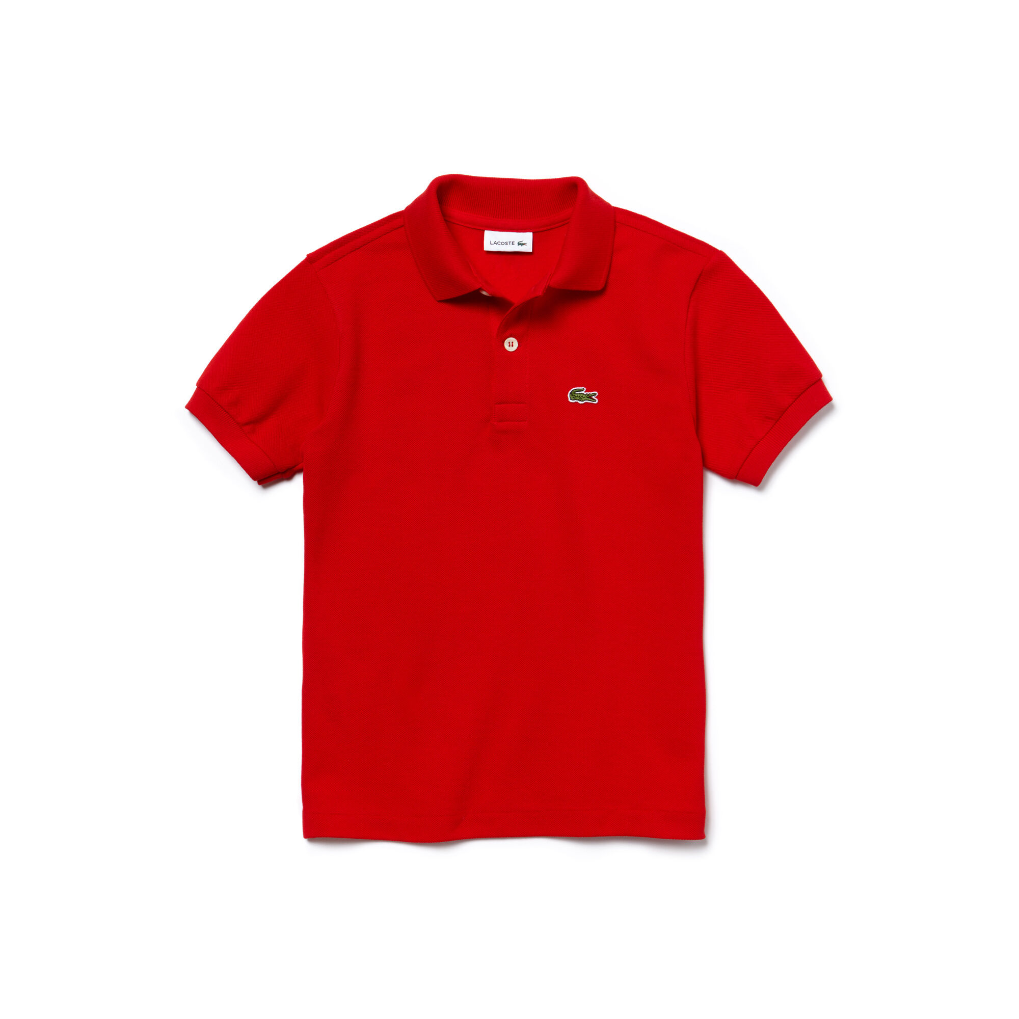 Boys Lacoste Polo Top