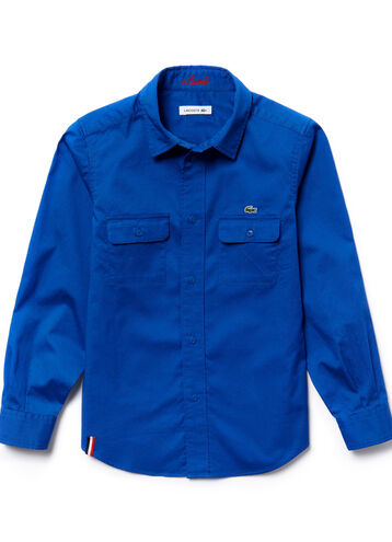 Boy's Dyed Woven Shirt