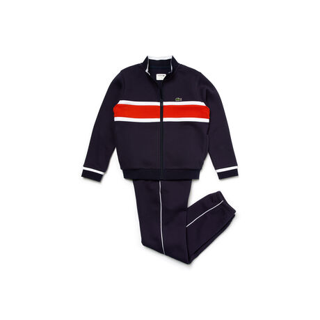 Kids' SPORT Colorblock Band Tennis Tracksuit