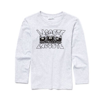 Boy's Long Sleeve Martian Graphic Tee