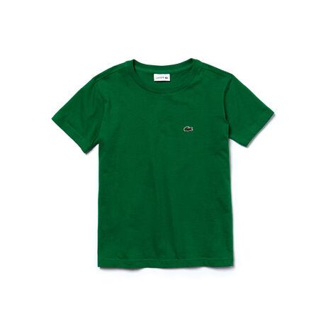 Boy's Crewneck Cotton T-Shirt