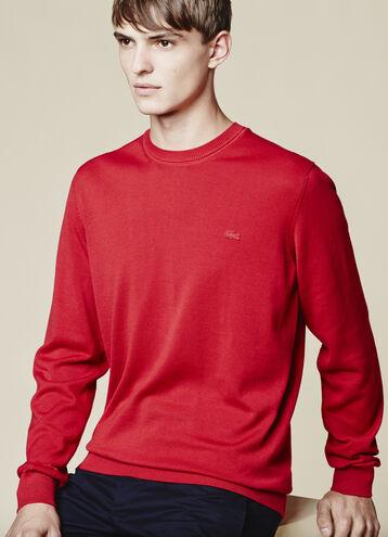 Men's Cotton Jersey Crewneck Sweater