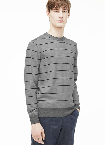 Men's L!VE Micro Stripe Cotton Sweater