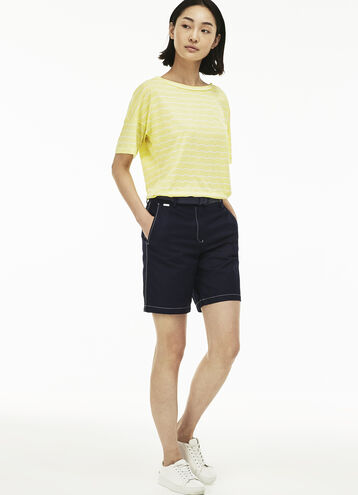 Women's Gabardine Bermuda Shorts