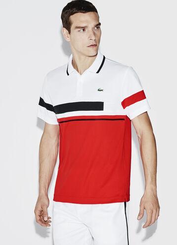Men's SPORT Ultra Dry Color Block Tennis Polo Shirt