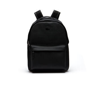 Men's Chantaco Monochrome Coated Leather Backpack