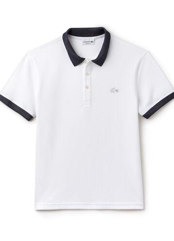 Men's Regular Fit Contrast Accents Polo Shirt