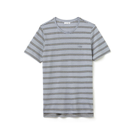 Men's Fashion Show Jersey Striped T-Shirt