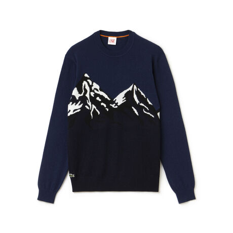 Men's L!VE Mountain Graphic Sweater