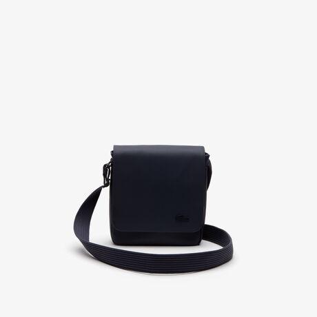 라코스테 메신저백 Lacoste Mens Classic Petit Pique Flap Bag,peacoat