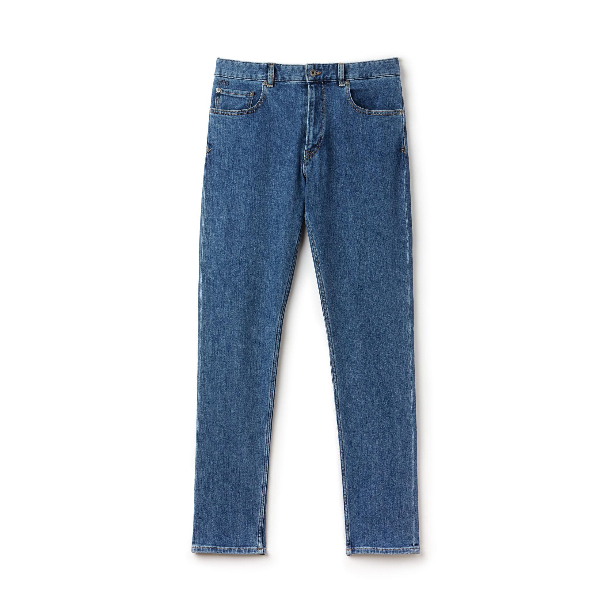 Men's Slim Fit 5 Pocket Denim Jeans