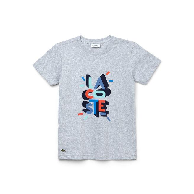"""Kid's Crew Neck Jersey """"Fair Play"""" Design T-Shirt"""