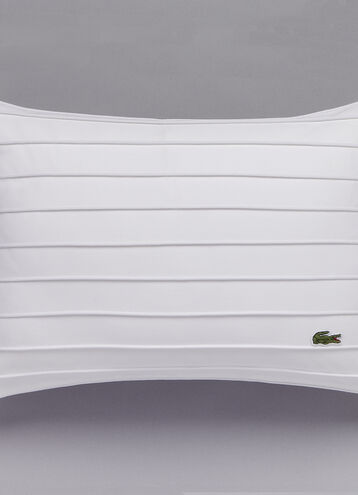 Diagonal Basketweave Pillow