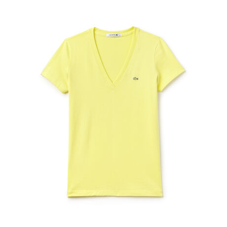 Women's Jersey Cotton V-Neck T-Shirt
