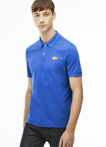 Men's L!VE Slim Fit Stretch Petit Piqué Polo Shirt