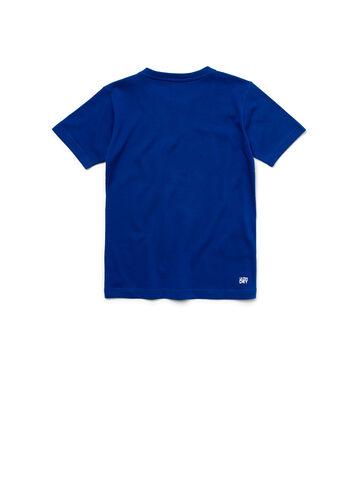 Kids' SPORT Technical Jersey Oversized Croc Tennis T-shirt