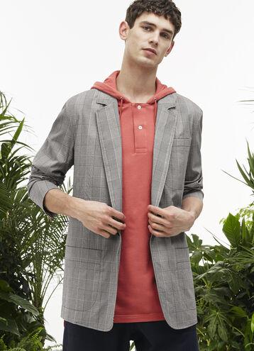 Men's Fashion Show Seersucker Blazer