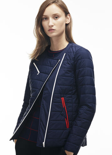 Women's Taffeta Round Collar Down Jacket