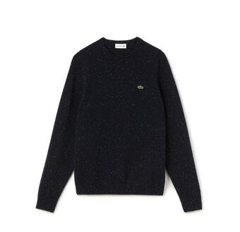 Men's Wool Crewneck Sweater